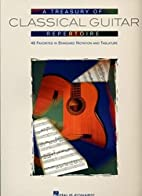 A Treasury of Classical Guitar Repertoire by…