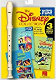 Hal Leonard Corp.: The Disney Collection: Recorder Fun! 3-Book Bonus Pack