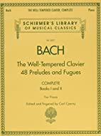 Bach: The Well-Tempered Clavier: Books I &…