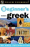 Matsukas, Aristarhos: Teach Yourself Beginner's Modern Greek