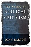 Barton, John: The Nature of Biblical Criticism