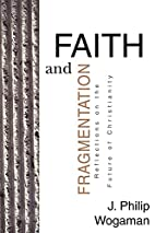 Faith and Fragmentation: Reflections on the…