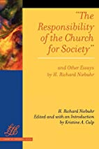 The Responsibility of the Church for Society…