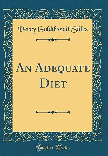an-adequate-diet-classic-reprint