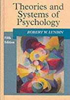 Theories and Systems of Psychology by Robert…