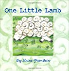 One Little Lamb (Booklist Editor's Choice.…