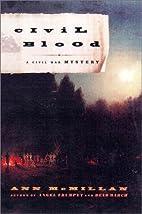 Civil Blood: A Civil War Mystery by Ann…