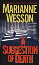 A Suggestion of Death by Marianne Wesson