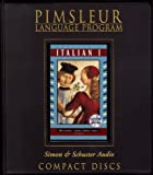 Pimsleur: Italian I: Pimsleur Comprehensive (Pimsleur CD Series)