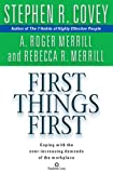 Merrill, A. Roger: First Things First