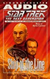 Carey, Diane: STAR TREK NEXT GENERATION: SHIP OF LINE CASSETTE (Star Trek - the Next Generation)