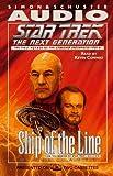 Carey, Diane: STAR TREK NEXT GENERATION: SHIP OF LINE CASSETTE (Star Trek - the Next Generation)