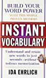 Ehrlich, Ida L.: Instant Vocabulary