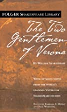 The Two Gentlemen Of Verona by William…