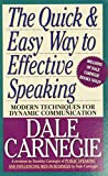 Carnegie, Dale: Quick and Easy Way to Effective Speaking