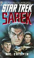 Sarek (Star Trek) by A.C. Crispin