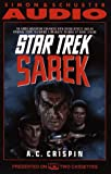 A.C. Crispin: STAR TREK: SAREK (CASSETTE)
