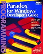 PARADOX for Windows Developer's Guide…