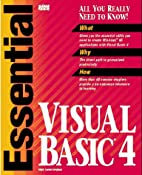 Essential Visual Basic 4 by Mark Steven…