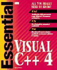 Williams, Mickey: Essential Visual C++4