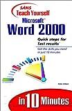 Aitken, Peter G.: Sams Teach Yourself Microsoft Word 2000 in 10 Minutes