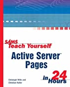 Sams Teach Yourself Active Server Pages in…