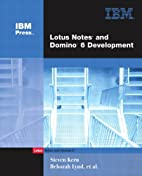 Lotus Notes and Domino 6 Development (2nd…