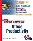 Sams Teach Yourself Office Productivity All…