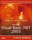 Dunn, Greg: Microsoft Visual Basic .Net 2003: Unleashed