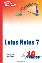 Sams Teach Yourself Lotus Notes 7 in 10…