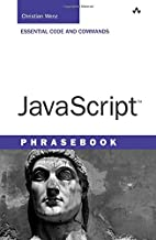 JavaScript Phrasebook by Christian Wenz