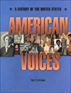 American Voices: A History of the United…