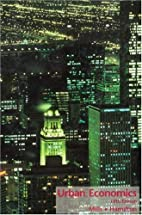 Urban economics by Edwin S. Mills
