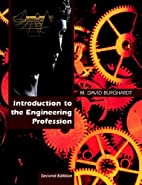 Introduction to the engineering profession…