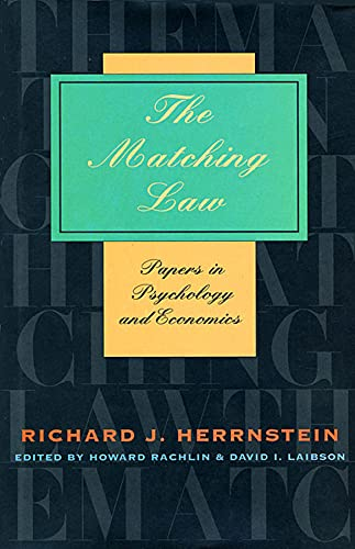 the-matching-law-papers-in-psychology-and-economics