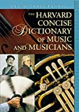 Randel, Don Michael: The Harvard Concise Dictionary of Music and Musicians