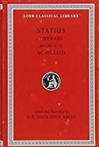 Thebaid, books 8-12 ; Achilleid by Statius