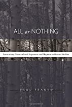 All or Nothing: Systematicity,…