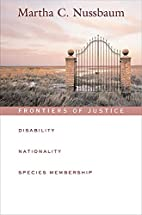 Frontiers of Justice: Disability,…