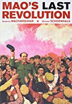 Mao's Last Revolution by Roderick…