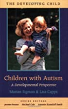 Children with Autism: A Developmental…