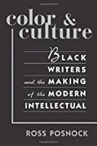 Color and Culture: Black Writers and the…