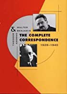 The Complete Correspondence, 1928-1940 by…