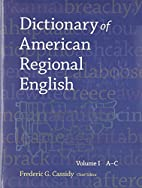 Dictionary of American regional English:…