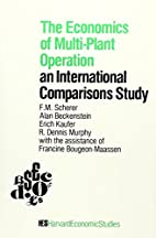 The economics of multiplant operation: an…