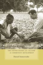 Thinking Small: The United States and the…