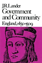 Government and Community: England, 1450-1509…