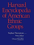 Harvard Encyclopedia of American Ethnic…