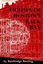 Houses of Boston's Back Bay by…