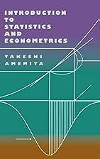 Introduction to Statistics and Econometrics…
